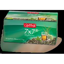 7x7 Alcaplantes tisane bio - P. Jentschura