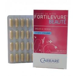 Vente FORTILEVURE BEAUTE LABORATOIRE CARRARE (Ongles et Cheveux) 6689379 Nutriments