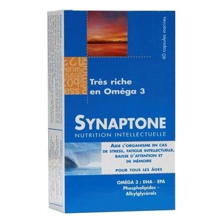 Vente SYNAPTONE (acides gras,mémoire,anti-stress) SYNAP01 Compléments alimentaires et bio