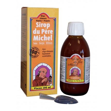 Vente SIROP DU PÈRE MICHEL(tonus,énergie,protection de la gorge...) SIROP200 Compléments alimentaires et bio