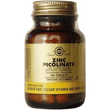 Vente ZINC PICOLINATE 3725 Nutriments